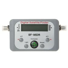 Digital Satellite Finder Meter Signal TV Finder Sat Decoder DVB-T2 LCD FTA Dish