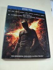 BATMAN DARK NIGHT RISES CABALLERO DE LA NOCHE ASCIENDE MEXICO EDITION BLURAY+DVD