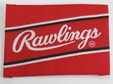"Rawlings Embroidered Cloth Baseball Softball Glove Label Patch 2.5"" x 1.75"""