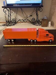 """Vintage Nylint Schneider National Semi Truck 23"""" Metal Plastic Sound?"""