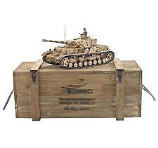 Torro 1/16 Rc Panzer Kpfw Iv. Modèle G Bb 1110385900 Professionnel Métal Édition