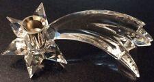 Beautiful Swarovski Crystal Comet Candleholder