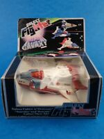 """Vintage Toy - GALAXY FIGHTER - RESCUER - Plastic Space Silverlit 4"""" Hong Kong"""