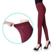 Evening Leggings Soft Plush NEW Ladies Spring Velvet Leggings Warm Velvety Pants