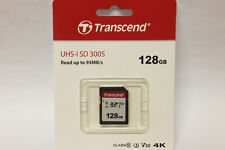 Transcend SDXC 128GB Karte Class 10  Neuware 128 GB SDXC UHS I Speicherkarte
