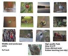 Wildlife Nature series Majestic USA Gaming Mouse Mat Pad Rectangle Mouse pad NS