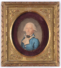 """High-ranking officer of the French Revolutionary Army"", fine miniature"