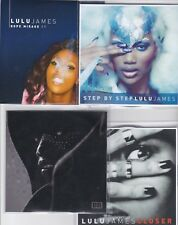 LULU JAMES 4 RARE PROMO CD's [Be Safe / Closer / Step by Step / Rope Mirage EP]