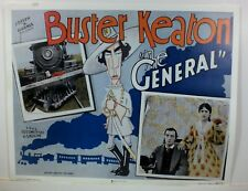 """The General Cardstock Poster 1926 Buster Keaton Marion Mack 22"""" X 28"""""""