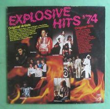 Explosive Hits 1974 Lp - La De Da's,Stevie Wright,Billy Thorpe,Ross Ryan,ZZ Top
