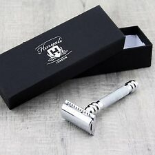 Stainless Steel Men's Shaving De Safety Razor. for Wet or Dry Shave+free blade