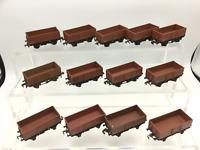 Hornby Dublo 4640 OO Gauge BR Steel Open Wagon B486865 x13