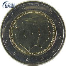 *** 2 Euro Münze NIEDERLANDE 2014 Willem Alexander und Beatrix Doppelportrait **