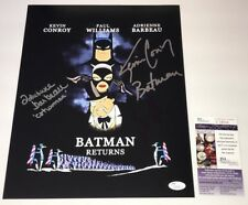 KEVIN CONROY Batman Animated Series Cast X3 Signed 11x14 Photo JSA COA