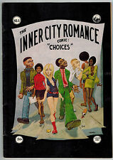 INNER CITY ROMANCE #1 1972 2nd Guy Colwell Classic UNDERGROUND COMIX Comic Book