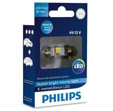 PHILIPS 128584000KX1 X-TREME LED LAMPE SOFFITTE WARM WEISS 38 mm 4000K C5W 12V
