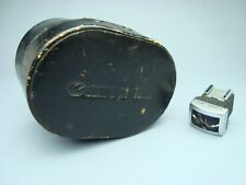 Canon RF 19mm Finder Viewfinder with original leather Case DEFEKT, REPAIR, PARTS
