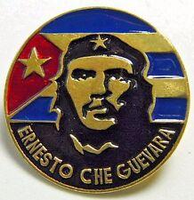 Guerilla Leader Cuban Revolution CHE GUEVARA Russian Brass Badge
