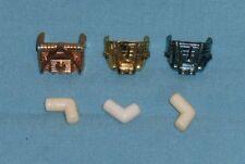 vintage Mego Micronauts TIME TRAVELER PARTS LOT #11 chest plates connector tubes