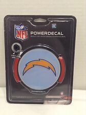 Brand New San Diego Chargers Team Logo NFL Light Up Power Decal
