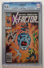X Factor #6 CGC 9.6 NM Mint APOCOLYPSE Key Issue Marvel first