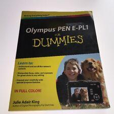 Olympus PEN E-PL1 for Dummies by Julie Adair King