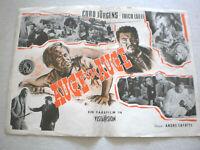 klein,Filmplakat,Plakat, ,AUGE UM AUGE,CURD JÜRGENS,FOLCO LULLI -14