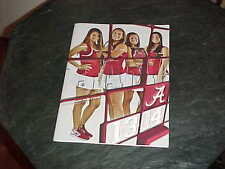 2013 University of Alabama Crimson Tide Women's Tennis Media Guide