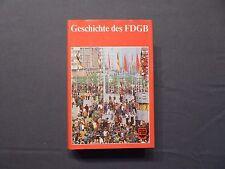 Buch, Geschichte des Freien Deutschen Gewerkschaftsbundes, FDGB, DDR, EA 1982