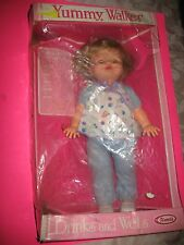 Uneeda Yummy Walker Doll - Drinks And Wets - Vintage - Brand New In Box !