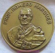 MED6876 - MEDAILLE Pr ROMERO MARQUES - CLINQUE VASCULAIRE DE RECIFE 1983 BRESIL