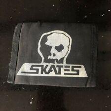 New listing Vintage 1980s Skull Skates skateboards velcro wallet very rare