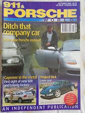 911 & Porsche World Oct 2002 Cayenne, TechArt GT Street S
