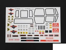 GENERIC escala cuerpo Decal Sticker Sheet versión 2 Windows Luces RC4WD Z-B0054 RC