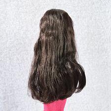 """Doll  Wig for 16"""" Ellowyne Wilde/1/4 Dollfie MSD Black  Sherry  11-SEW-04"""
