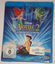 Arielle Die Meerjungfrau 2 Sehnsucht nach dem Meer  Blu Ray NEU Walt Disney