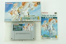 TALES OF PHANTASIA SNES namco Nintendo Super Famicom Box From Japan