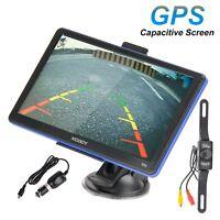 XGODY 7 Inch 886 GPS Navigation Device Wireless Rearview Camera LED SAT NAV Unit