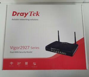 DrayTek Vigor V2927ac Dual Ethernet Gigabit WAN  Wired/ Wireless Router│802.11ac