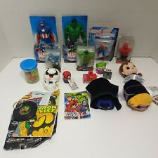Marvel Comics Super Heroes Lot Of Mixed Toys Tsum Tsum Plush Figures Spiderman +