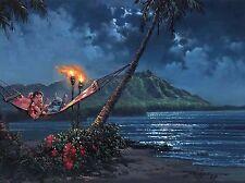 Hawaiian Serenade Oil Painting HD Print On Canvas Wall Art  20 No Frame H209