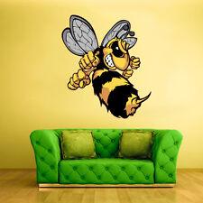 Color Wall Vinyl Sticker Decals Hornet Bumble Bee Kids Nursery (Col48)