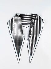 Haider Ackermann Silk Scarf Black & White SS 2018 NEW! One Size