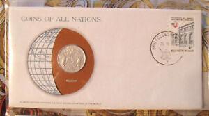 Coins of All Nations Belgium 10 francs 1976 UNC