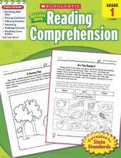 Success With Reading Comprehension, Grade 1 Children Workbooks Learning Activity