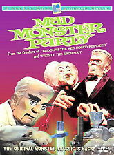 Mad Monster Party (DVD, 2002)