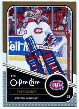 2011-12 O-Pee-Chee PATRICK ROY Gold Marquee Legends #L7 Rare SP HOF OPC High BV