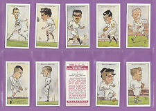 RUGBY - SET OF 50 WILLS ' RUGBY  INTERNATIONALS ' CARDS - REPRINTS
