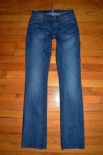 New 7 for all mankind Straight Leg Jeans BUBL size 23/ 24
