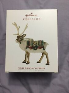Hallmark 2019 Limited Edition Father Christmas's Reindeer Ornament